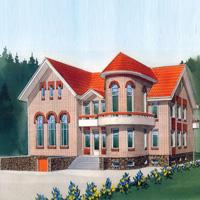 Каталог проекты домов из пеноблоков проект дома 50-98 общ. площадь 843,37м2