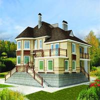 проект дома 51-09 общ. площадь 340,3 м2