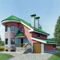 проект дома 52-52 общ. площадь 319,4м2