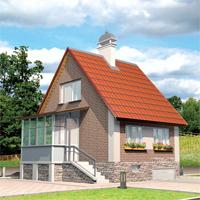 Каталог проекты домов из пеноблоков проект дома 52-77 общ. площадь 115,11м2
