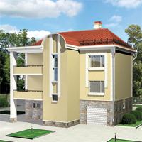 проект дома 52-79 общ. площадь 250,7м2