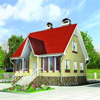 Каталог проекты домов из пеноблоков проект дома 52-85 общ. площадь 137м2