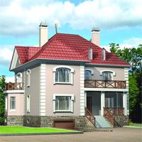 проект дома 52-86 общ. площадь 357,09м2