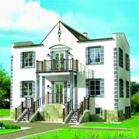 Каталог проекты домов из пеноблоков проект дома 52-88 общ. площадь 189м2