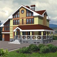 проект дома 53-74 общ. площадь 306,5 м2
