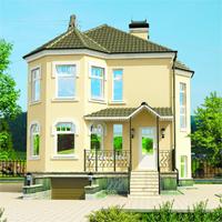Каталог проекты домов из пеноблоков проект дома 51-05 общ. площадь 196,5м2