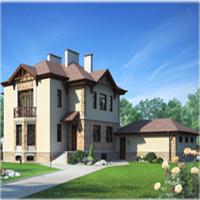 Каталог проекты домов из пеноблоков проект дома 80-16 общ. площадь 460,9м2