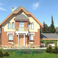 Каталог проекты домов из пеноблоков проект дома 59-02 общ. площадь 139 м2