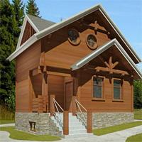 Каталог проекты домов из пеноблоков проект дома 59-48 общ. площадь 94,6 м2
