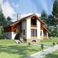 проект дома 59-53 общ. площадь 248,5 м2