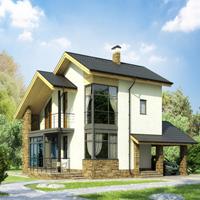 проект дома 59-56 общ. площадь 218,5 м2
