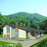 Каталог проекты домов из пеноблоков проект дома 59-71 общ. площадь 190,55 м2