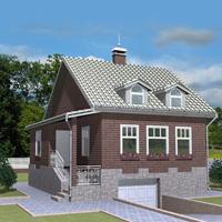 Каталог проекты домов из пеноблоков проект дома 59-73 общ. площадь 151,49 м2