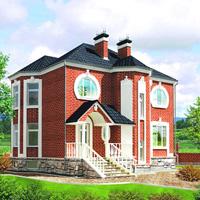 проект дома 59-70 общ. площадь 212,7 м2