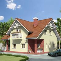 проект дома 59-86 общ. площадь 140,7 м2