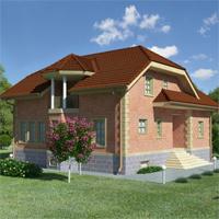 проект дома 58-03 общ. площадь 306,72 м2