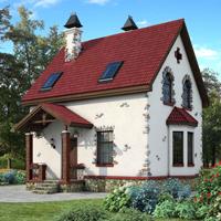 Каталог проекты домов из пеноблоков проект дома 58-19 общ. площадь 100 м2