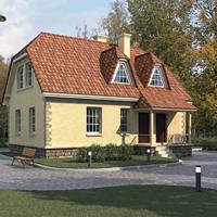 проект дома 58-23 общ. площадь 236 м2