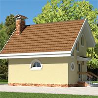 Каталог проекты домов из пеноблоков проект дома 58-69 общ. площадь 48,60м2
