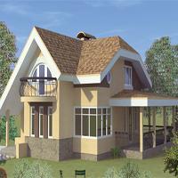 Каталог проекты домов из пеноблоков проект дома 58-76 общ. площадь 140,10м2