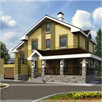 проект дома 31-04 общ. площадь 302,6м2