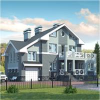 проект дома 30-98 общ. площадь 409,3м2