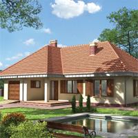 проект дома 57-44 общ. площадь 175,0м2