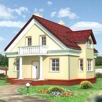 проект дома 60-29 общ. площадь 126,80 м2
