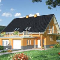 проект дома 60-46 общ. площадь 115,00 м2