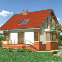 проект дома 60-49 общ. площадь 120,50 м2