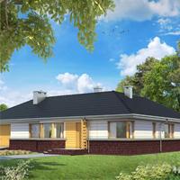 проект дома 60-61 общ. площадь 136,40 м2
