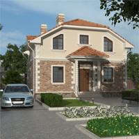 проект дома 20-03 общ. площадь 141,14 м2