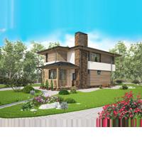 проект дома 60-83 общ. площадь 134,06 м2