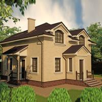проект дома 20-01 общ. площадь 140,5 м2