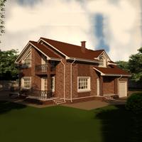 проект дома 20-57 общ. площадь 272,19 м2