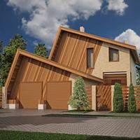 проект дома 20-81 общ. площадь 282,11 м2