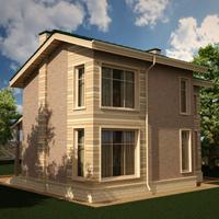 проект дома 20-85 общ. площадь 205,69 м2