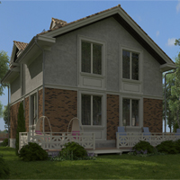 проект дома 21-06 общ. площадь 154,85 м2