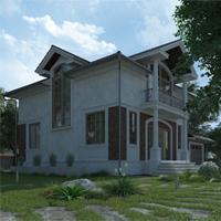 проект дома 21-83 общ. площадь 247,05 м2