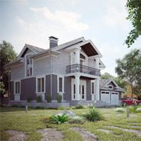 проект дома 21-84 общ. площадь 273,80 м2