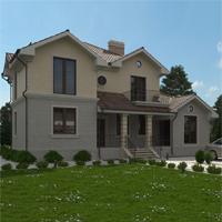 проект дома 22-69 общ. площадь 389,20 м2