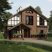 проект дома 20-84 общ. площадь 212,40 м2