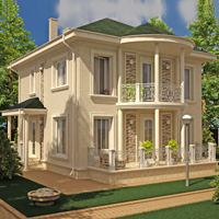 проект дома 20-40 общ. площадь 133,15 м2