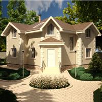 проект дома 20-91 общ. площадь 258,45 м2
