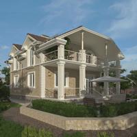 проект дома 21-09 общ. площадь 141,15 м2
