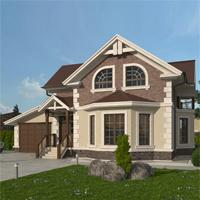 проект дома 20-60 общ. площадь 256,05 м2