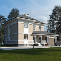 проект дома 24-01 общ. площадь 334,75 м2