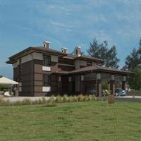 проект дома 24-24 общ. площадь 372,85 м2