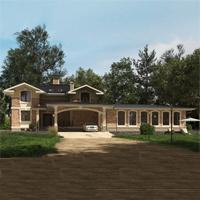 проект дома 24-68 общ. площадь 498,25 м2