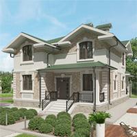 проект дома 24-50 общ. площадь 265,30 м2